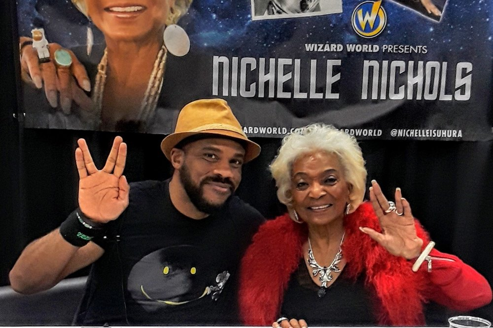 [UPDATE] What the Future Holds: An Interview With Nichelle Nichols (Wizard World Des Moines 2018)   Written by R. Alan Brooks