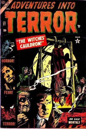Adventures into Terror (1950) #27, cover by Gene Colan.