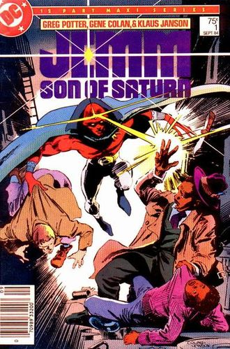 Jemm, Son of Saturn (1984) #1, cover penciled by Gene Colan & inked by Klaus Janson