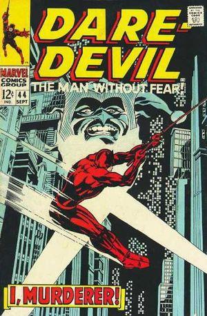 Daredevil (1964) #44, cover by Gene Colan.