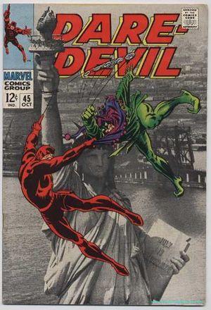 Daredevil (1964) #45, cover by Gene Colan.