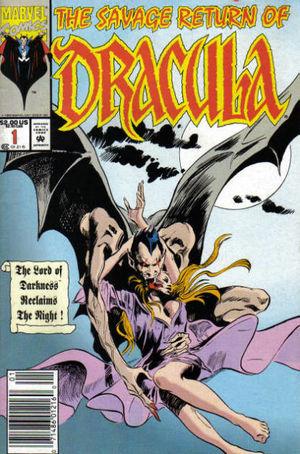 Savage Return of Dracula (1992) #1, cover by Gene Colan.