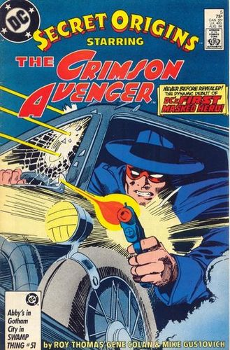 Secret Origins (1986) #5, cover penciled by Gene Colan & inked by Mike Gustovich.