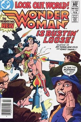 Wonder Woman (1942) #288, cover penciled by Gene Colan & inked by Dick Giordano.