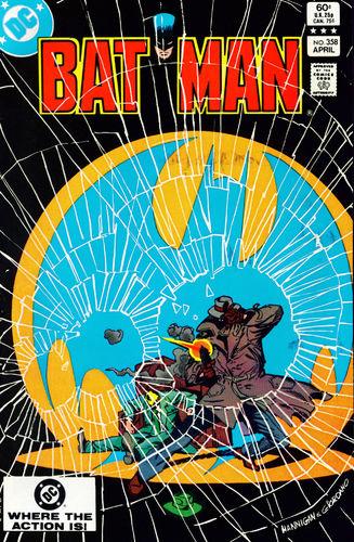 Batman (1940) #358, written by Gerry Conway.