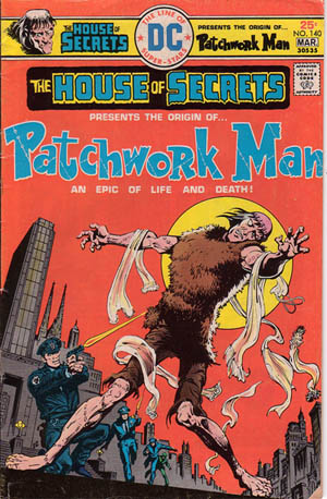 House of Secrets (1956) #140, written by Gerry Conway.