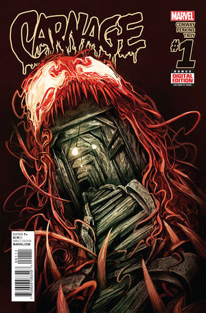 Carnage (2016) #1, written by Gerry Conway.