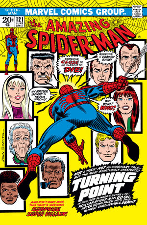 Amazing Spider-Man (1963) #121, written by Gerry Conway.