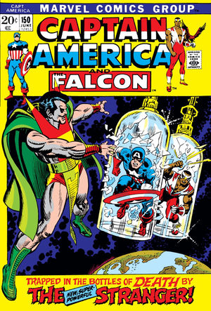 Captain America (1968) #150, written by Gerry Conway.