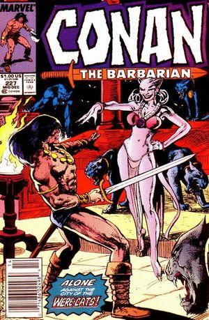 Conan the Barbarian (1970) #227, written by Gerry Conway.