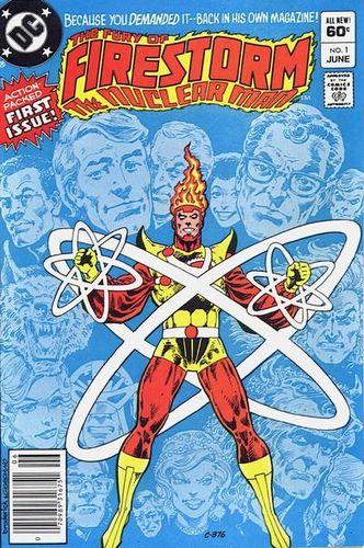 Firestorm (1982) #1, written by Gerry Conway.
