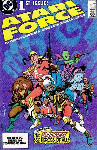 Atari Force (1984) #1, written by Gerry Conway.