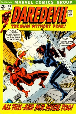 Daredevil (1964) #83, written by Gerry Conway.