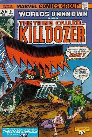 Worlds Unknown (1973) #6, written by Gerry Conway.