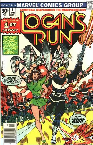 Logan's Run (1977) #1, adapted by Gerry Conway.