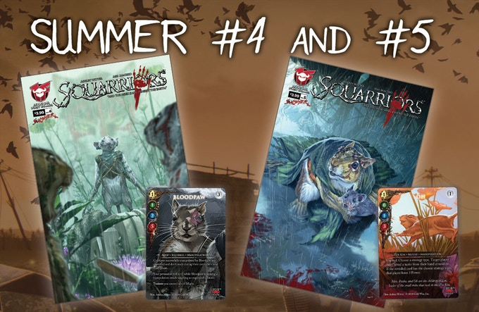 Pre-Order the new issues of  Squarriors: Summer ….