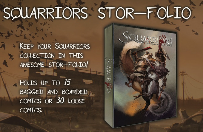 The  Squarriors  Stor-Folio!