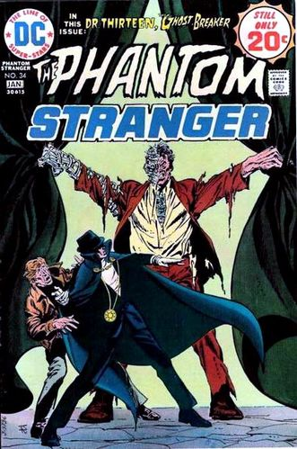 "Phantom Stranger (1969) #34, featuring "" A Death In The Family! "" written by Guy Lillian & Arnold Drake."
