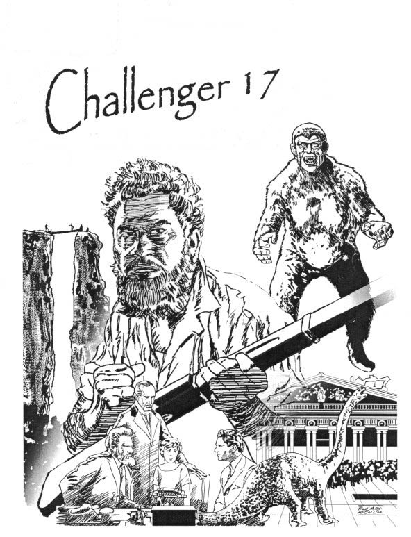 Challenger (1993) #17, cover by Paul McCall. Edited by Guy Lillian.