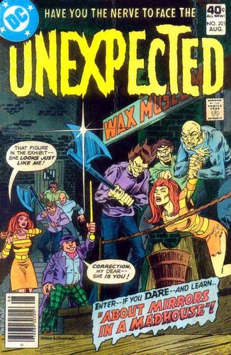 "Unexpected (1968) #201, featuring "" Do Unto Others! "" written by Guy Lillian & Mary Skrenes."
