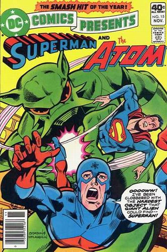 DC Comics Presents (1978) #15, cover penciled by Joe Staton & inked by Frank McLaughlin.