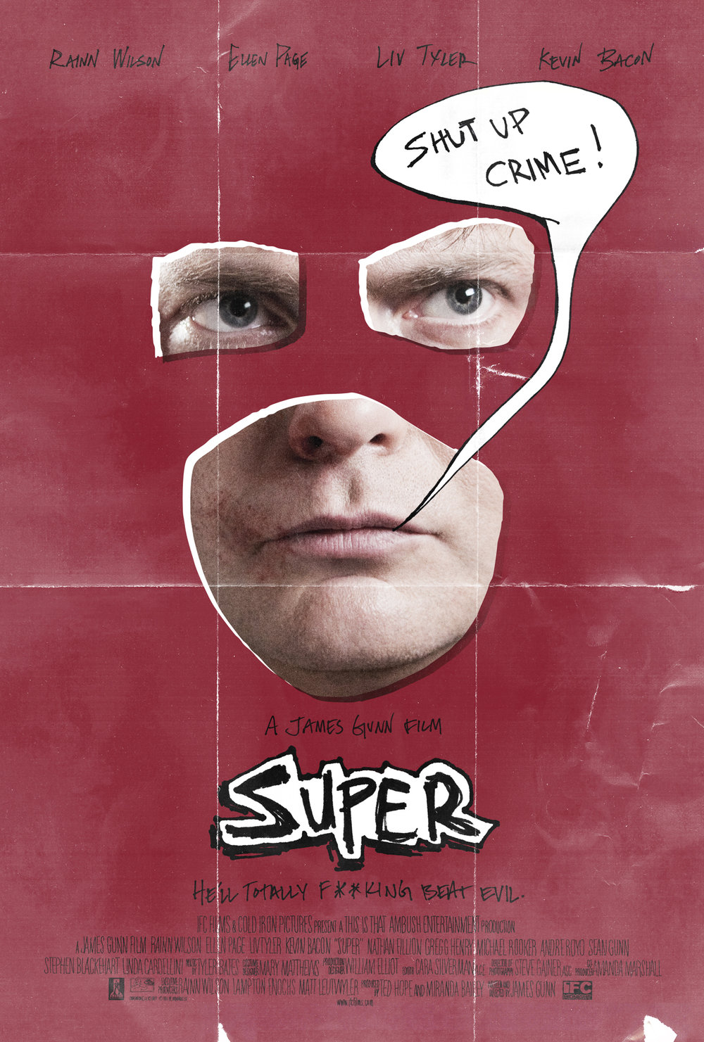 Movie poster for  Super
