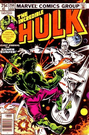 Incredible Hulk (1968) #250, cover by Al Milgrom.