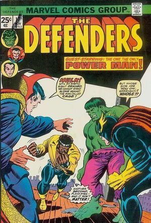 Defenders (1972) #17, cover penciled by Ron Wilson & inked by Al Milgrom.