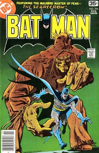 Batman (1940) #296, cover penciled by Sal Amendola & inked by Al Milgrom.