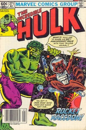 Incredible Hulk (1968) #271, cover by Al Milgrom.