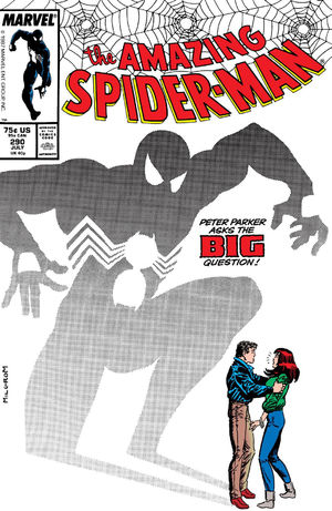 Amazing Spider-Man (1963) #290, cover by Al Milgrom.