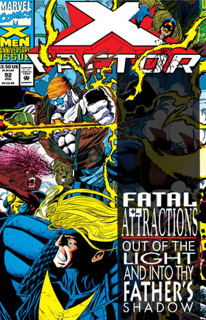 X-Factor (1986) #92, cover penciled by Joe Quesada & inked by Al Milgrom.