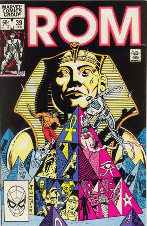 Rom (1979) #39, cover penciled by Al Milgrom & inked by Gene Day.