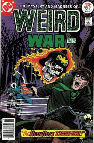 Weird War Tales (1971) #56, cover by Al Milgrom.