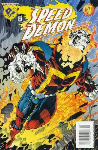 Speed Demon (1996) #1, cover penciled by Salvador Larroca & inked by Al Milgrom.