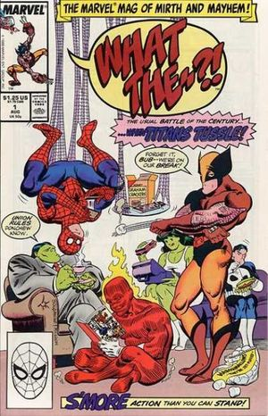 What The (1988) #1, cover penciled by Jon Bogdanove & inked by Al Milgrom.