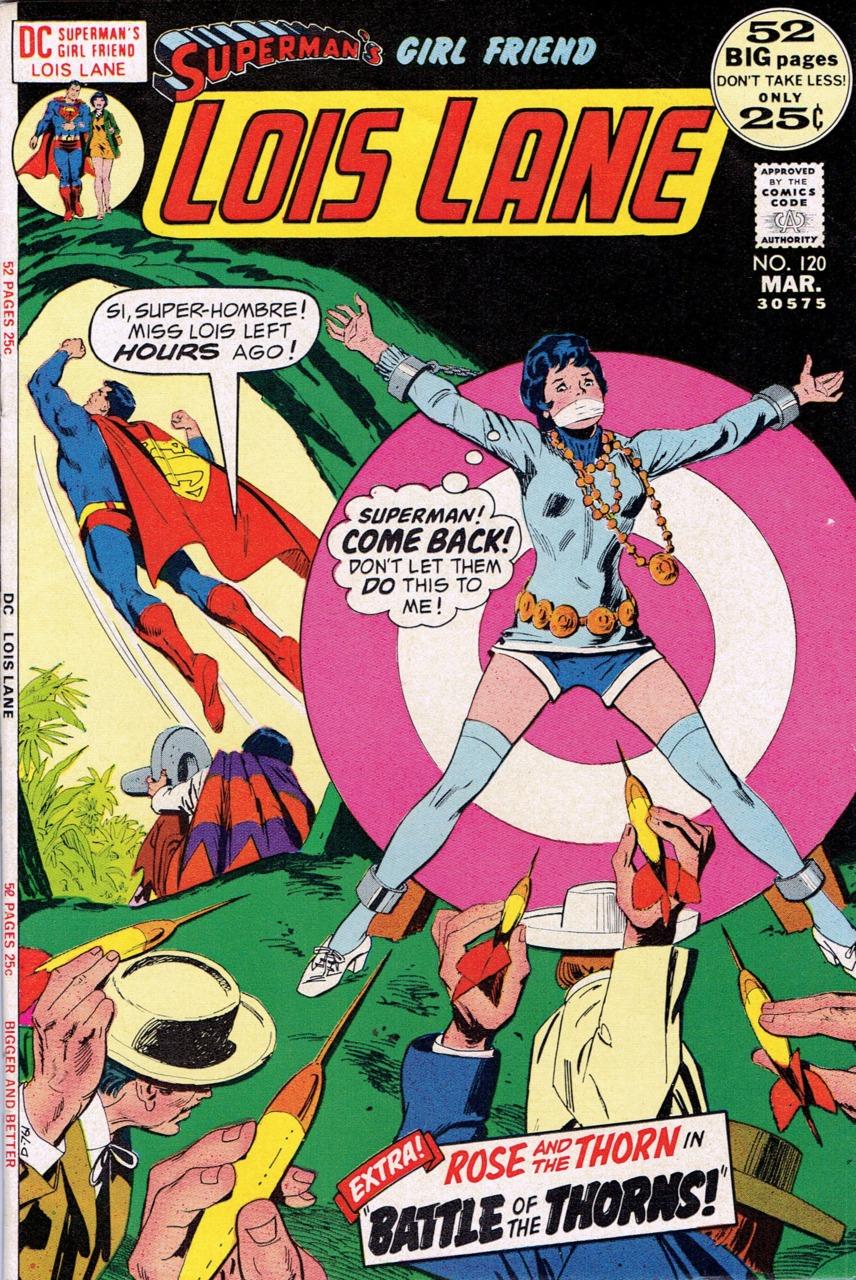 Superman's Girlfriend, Lois Lane (1958) #120, featuring a story co-written by Irene Vartanoff & Cary Bates.