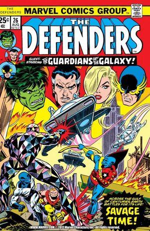 Defenders (1972) #26, interior colored by Irene Vartanoff.