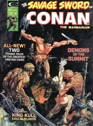 Savage Sword of Conan (1974) #3, edited by Irene Vartanoff.