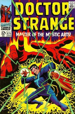 Doctor Strange (1968) #171, cover by Dan Adkins. Tom Palmer penciled the interior.