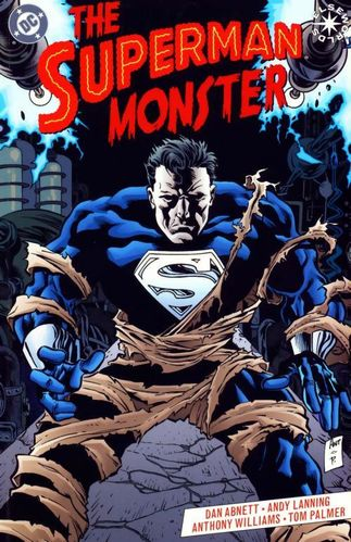 Superman Monster (1999) #1, cover penciled by Anthony Williams & inked by Tom Palmer.