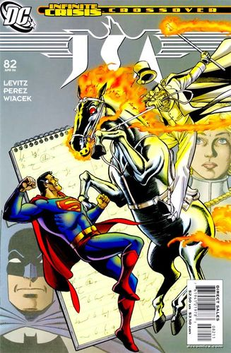 JSA (1999) #82, written by Paul Levitz.