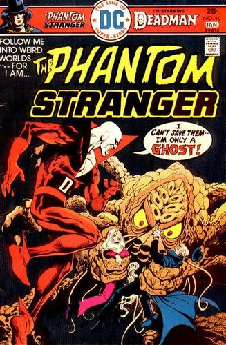 Phantom Stranger (1969) #40, cover story written by Paul Levitz.