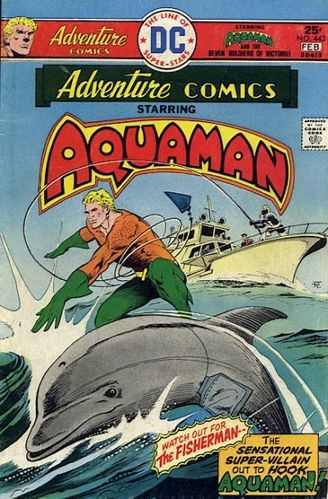 Adventure Comics (1938) #443, cover story written by Paul Levitz & David Michelinie.