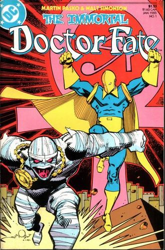 Immortal Doctor Fate (1985) #1, main story written by Paul Levitz.