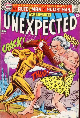 Tales of the Unexpected (1956) #97, cover by Jay Scott Pike.