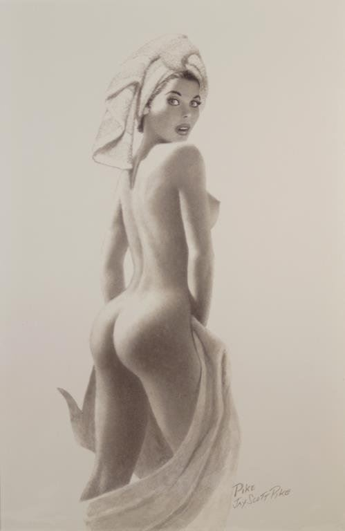 A nude by Jay Scott Pike.