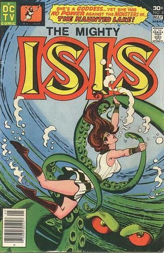 Isis (1976) #4, written by Jack C Harris.
