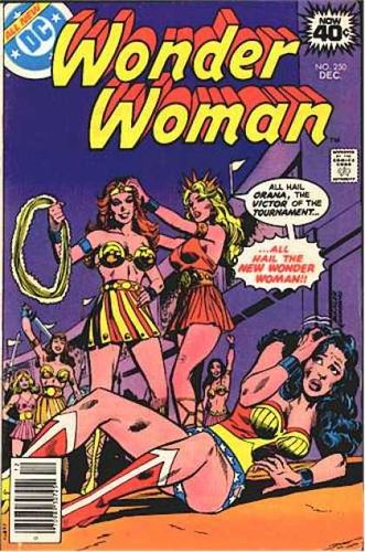 Wonder Woman (1942) #250, written by Jack C Harris.