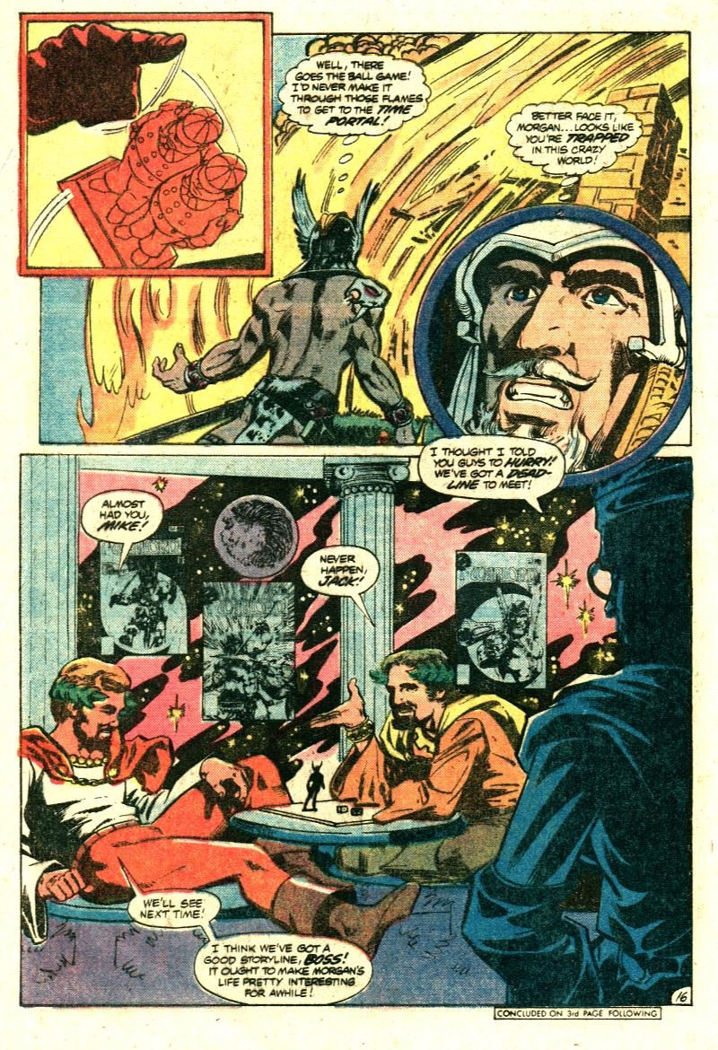 Warlord (1976) #35 pg.16 - featuring Jack, Mike, & Joe.